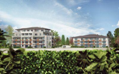3-D-Ansicht Häuser 1 und 2
